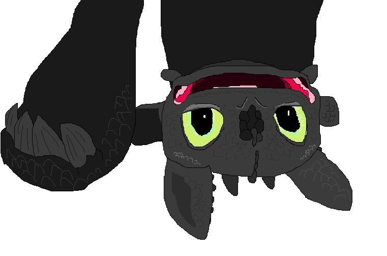 httyd toothless upside down wallpaper - photo #6