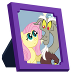 Fluttershy and Discord Picture