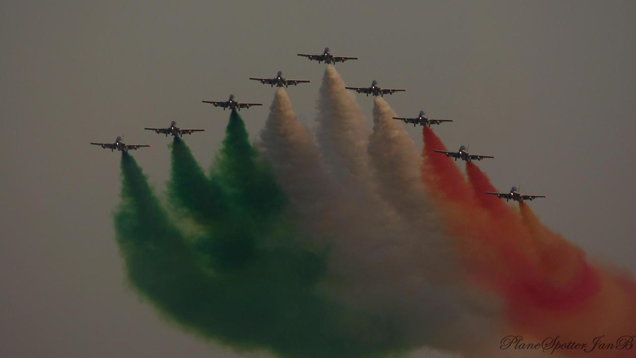 Frecce Tricolori by PlaneSpotterJanB