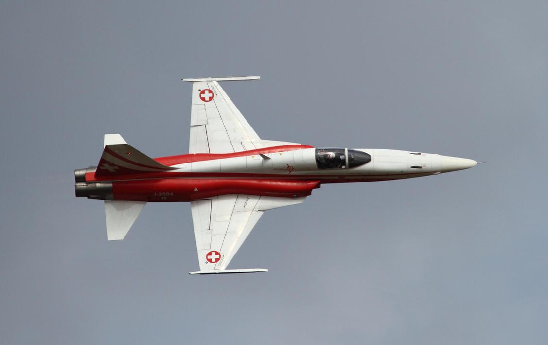 Northrop F-5E Tiger II by PlaneSpotterJanB