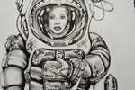 Spacesuit Woman (Ten Seconds Remaining)