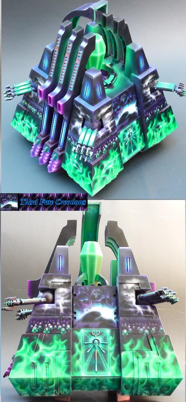 Necron Monolith by Atropos907