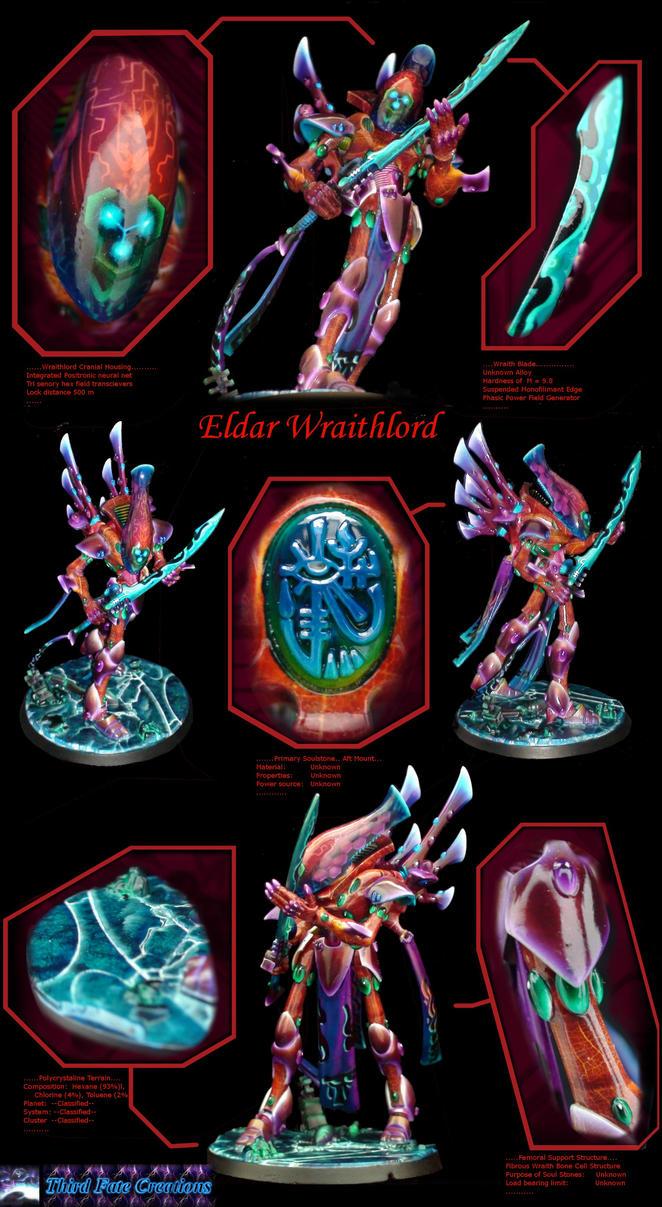 Eldar Wraithlord by Atropos907