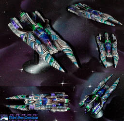 Cylon Piris Blue by Atropos907