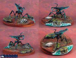 Starship Troopers Arachnid Blue