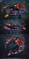 Necron DoomScythe: 40k fighter
