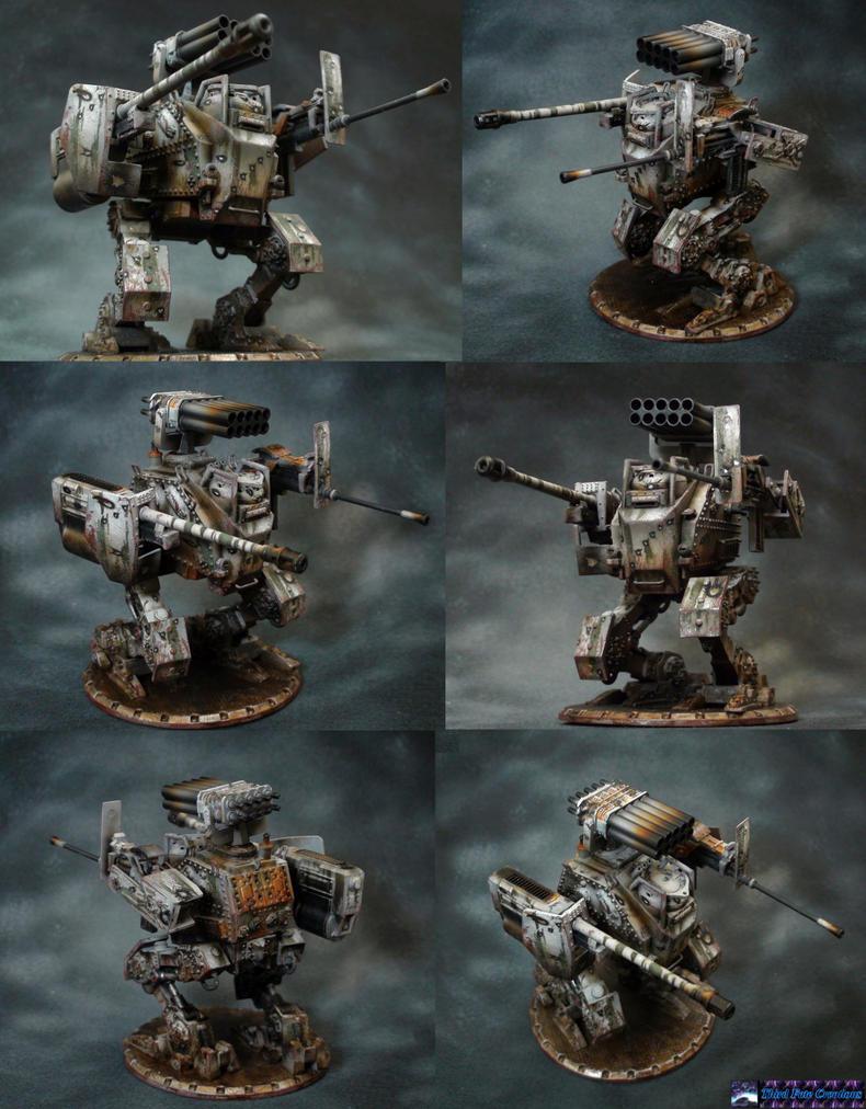 Dust Tactics Mech by Atropos907