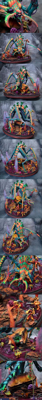 Heirophant tyranid Titan by Atropos907