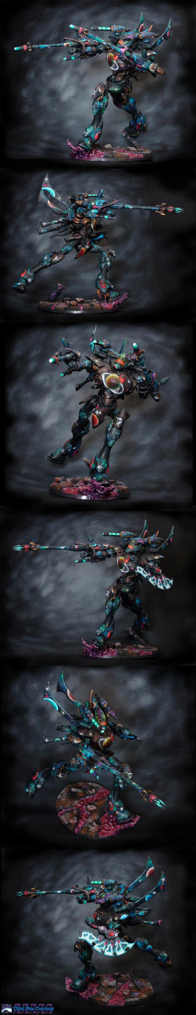 Eldar Wraith Knight With Cannons by Atropos907