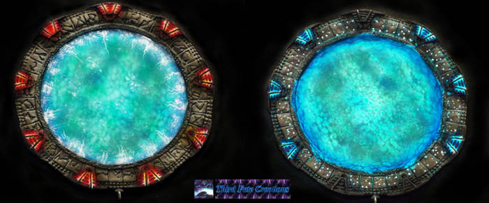 Stargates airbrushed