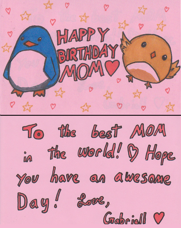 Mother Birthday Card Messages gangcraftnet – Birthday Cards for Mom Funny