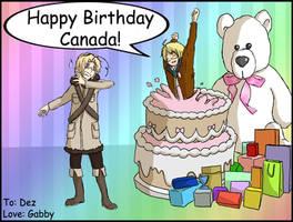 APH - Happy Birthday Dez by Hazel-Almonds