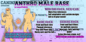 Anthro Male Base Pack (DISCOUNTED!)