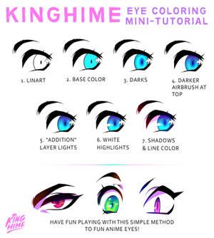 Mini-Tutorial: Kinghime's anime eyes