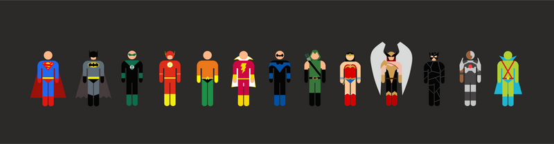 DC SUPERS