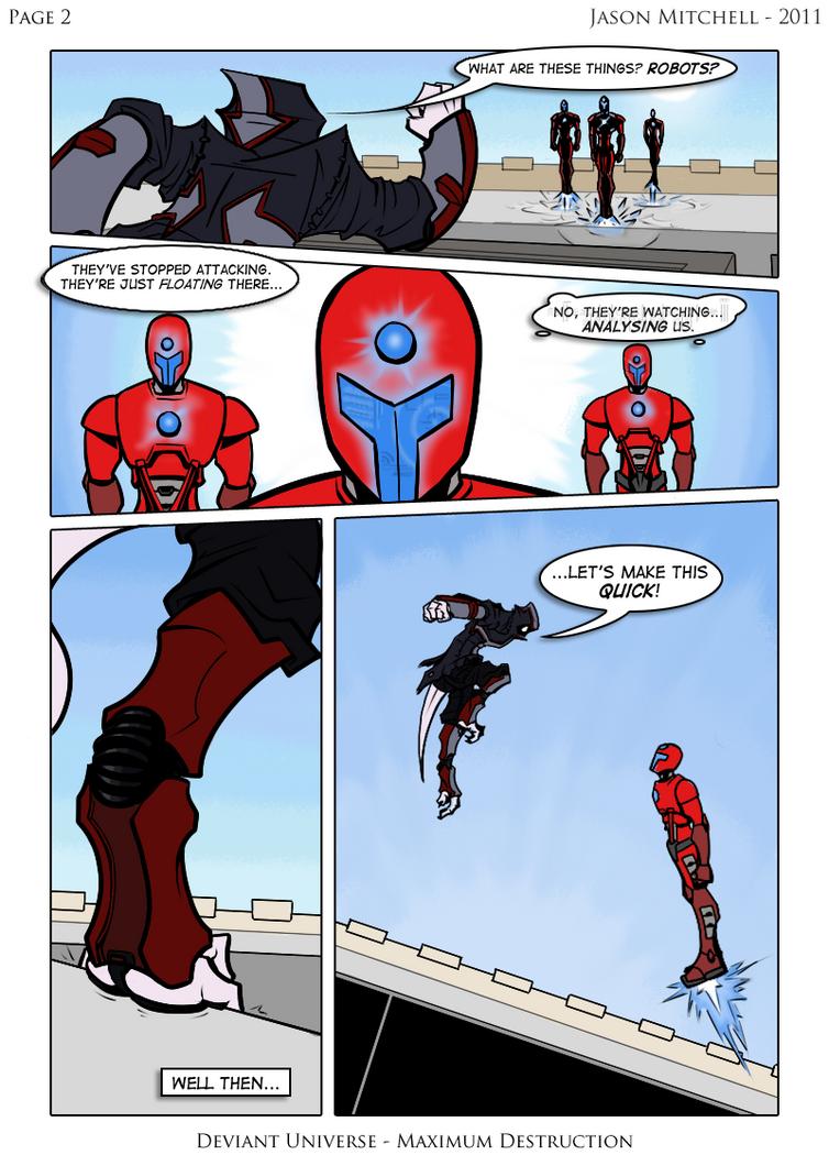 Maximum Destruction: Page 2 by VexusVersion