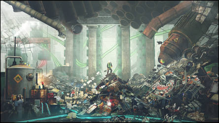 Inside Every Recycle Bin .. by Crazy-Knife