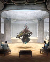 Floating Ikebana by Crazy-Knife