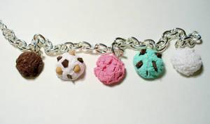 Ice Cream Scoop Bracelet by paperfaceparade