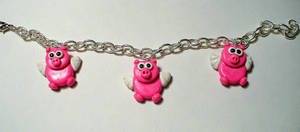Flying Pigs Bracelet
