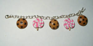 Cookie and Lollipop Bracelet