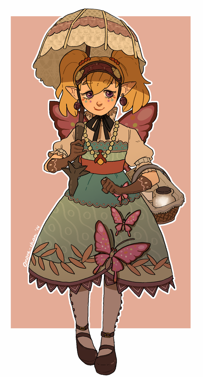 Princess of Bugs by onone-chan