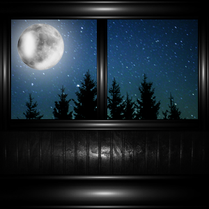 Window night 1 by SweetAngelD