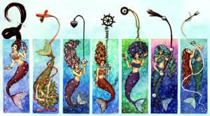 Mermaids bookmarks