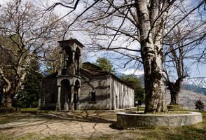 Church in Metsovo by GlueR