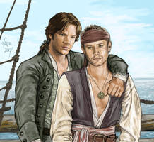 Winchesters of the Caribbean by Leyna-art
