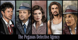 Pegasus Detective Agency by Leyna-art