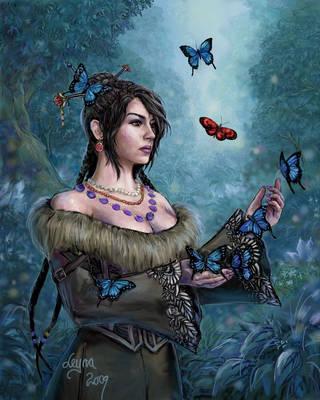 Butterfly of Ill-Omen by Leyna-art