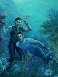 Undersea Garden by Leyna-art