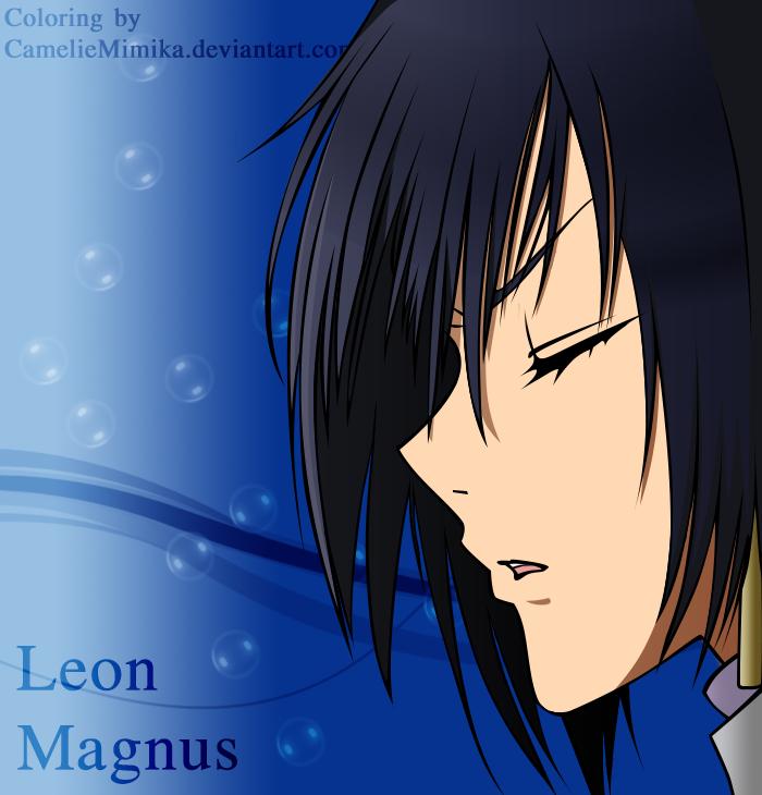 Leon Magnus Manga Coloring by CamelieMimika
