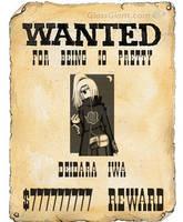 Deidara Wanted by SasuIsGay