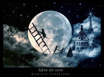Reve de lune by Isbikta