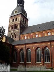 Riga's cathedral church