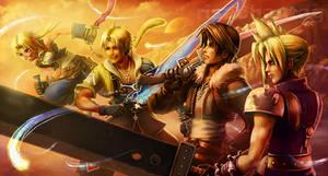 FFDissidia: Four Heroes