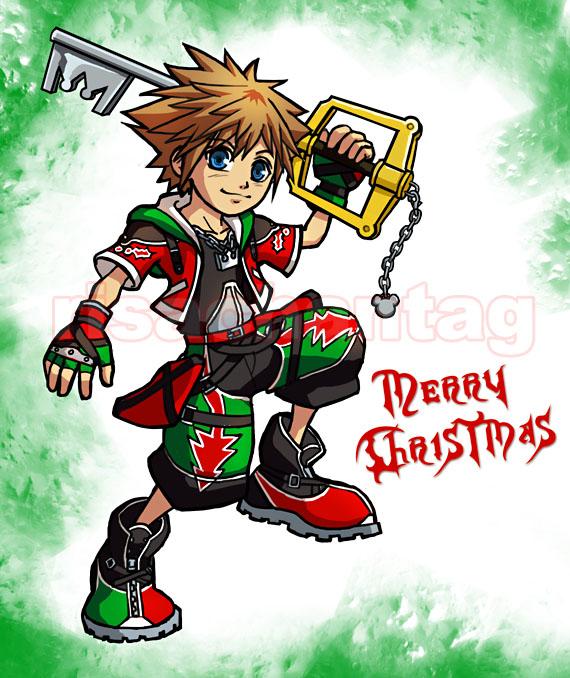 KH2__Christmas_Card_2008_by_Risachantag.
