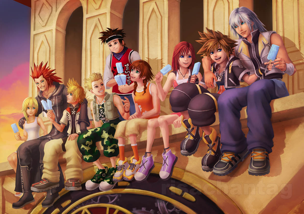 KH2: Perfect World by *Risachantag
