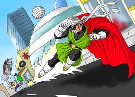 Great Saiyamans Justice Kick by Risachantag