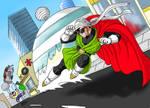 Great Saiyamans Justice Kick
