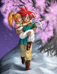 Chrono and Marle