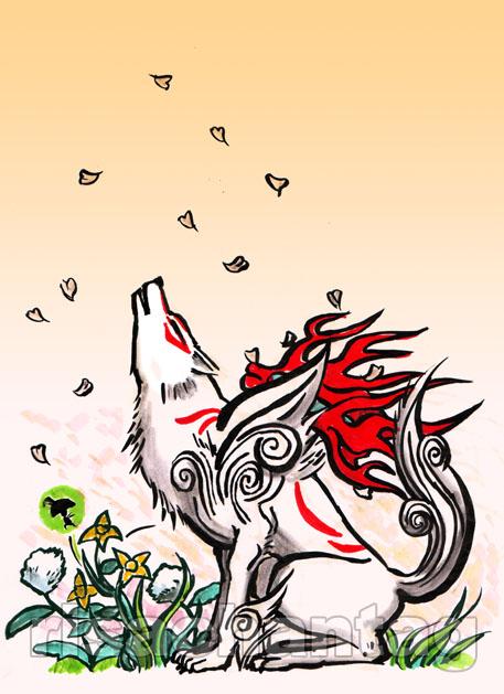 Okami: Howl by Risachantag