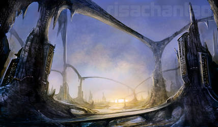 Original: Stalagmite City by Risachantag