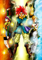 Chrono Trigger Delta Force by Risachantag