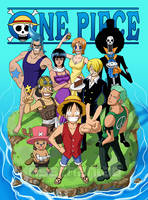 One Piece: Doujinshi Cover by Risachantag