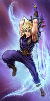 FF Dissidia: Cloud Strife