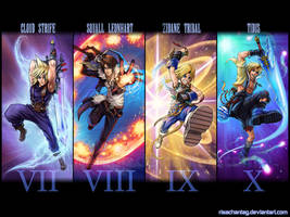 FF Dissidia: Desktop wallpaper by Risachantag
