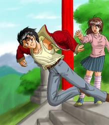 Yusuke and Keiko by Risachantag